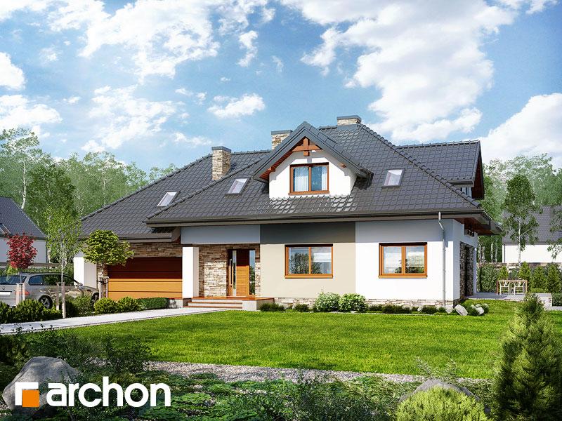 Проект будинку ARCHON+ Будинок в каннах 2 (П) Вид 1