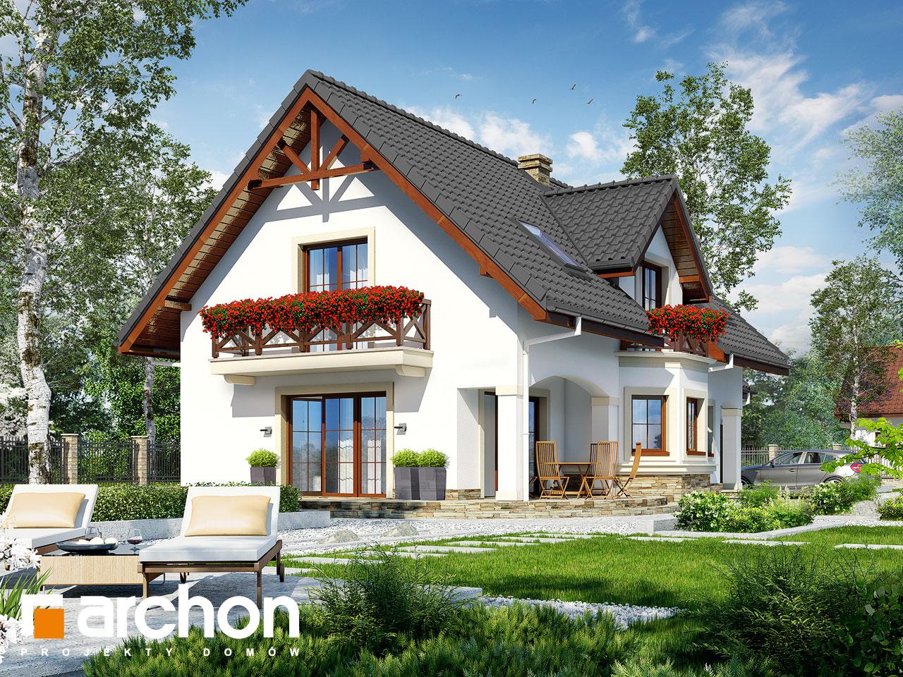 Проект будинку ARCHON+ Будинок в майорані 2 (Г) Вид 2