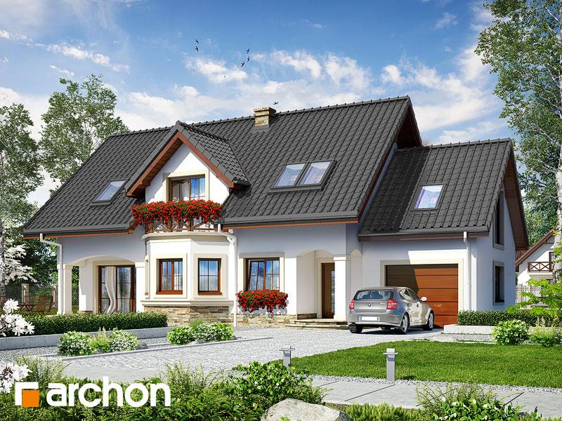 Проект будинку ARCHON+ Будинок в майорані 2 (Г) Вид 1