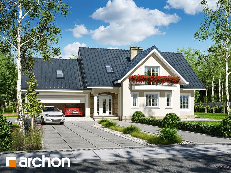 Проект будинку ARCHON+ Будинок в лобеліях (Г2) Вид 1