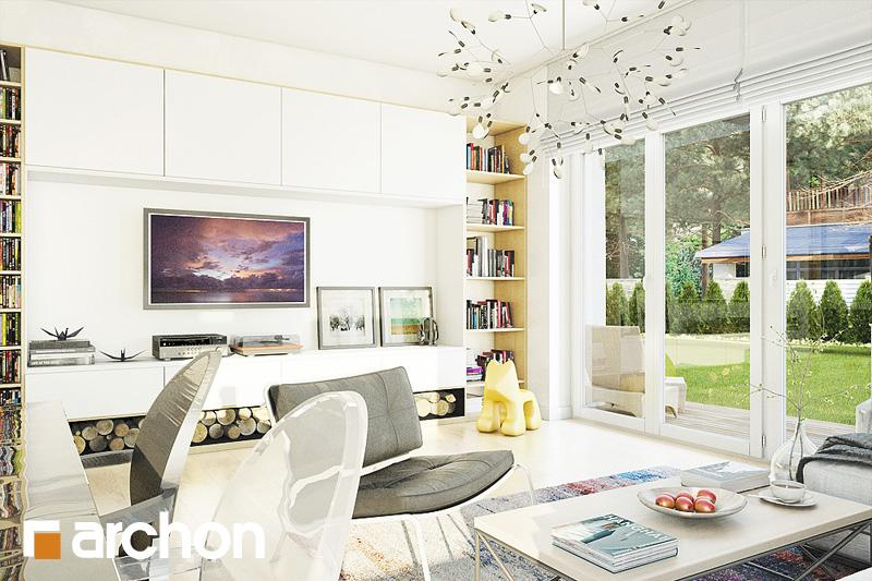 Проект будинку ARCHON+ Будинок в лещиновнику 2 денна зона (візуалізація 1 від 1)