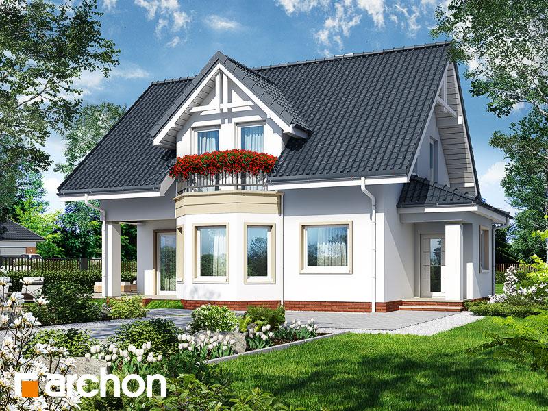 Проект будинку ARCHON+ Будинок в журавлині 3 Вид 1