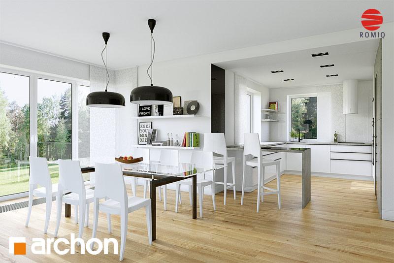 Проект будинку ARCHON+ Будинок в чорнушках (Г) аранжування кухні 1 від 1