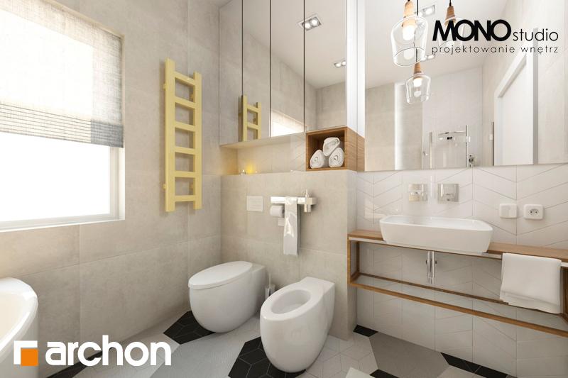 Проект будинку ARCHON+ Будинок в грушках (Г) візуалізація ванни (візуалізація 1 від 3)
