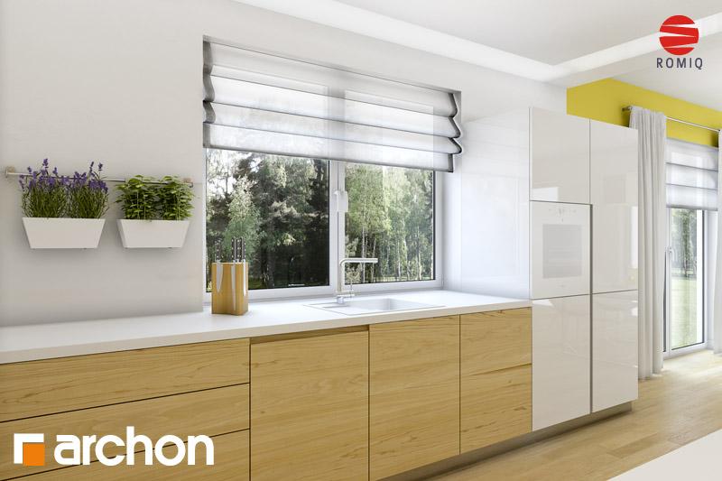 Проект будинку ARCHON+ Будинок в айдаредах 4 (П) візуалізація кухні 2 від 1
