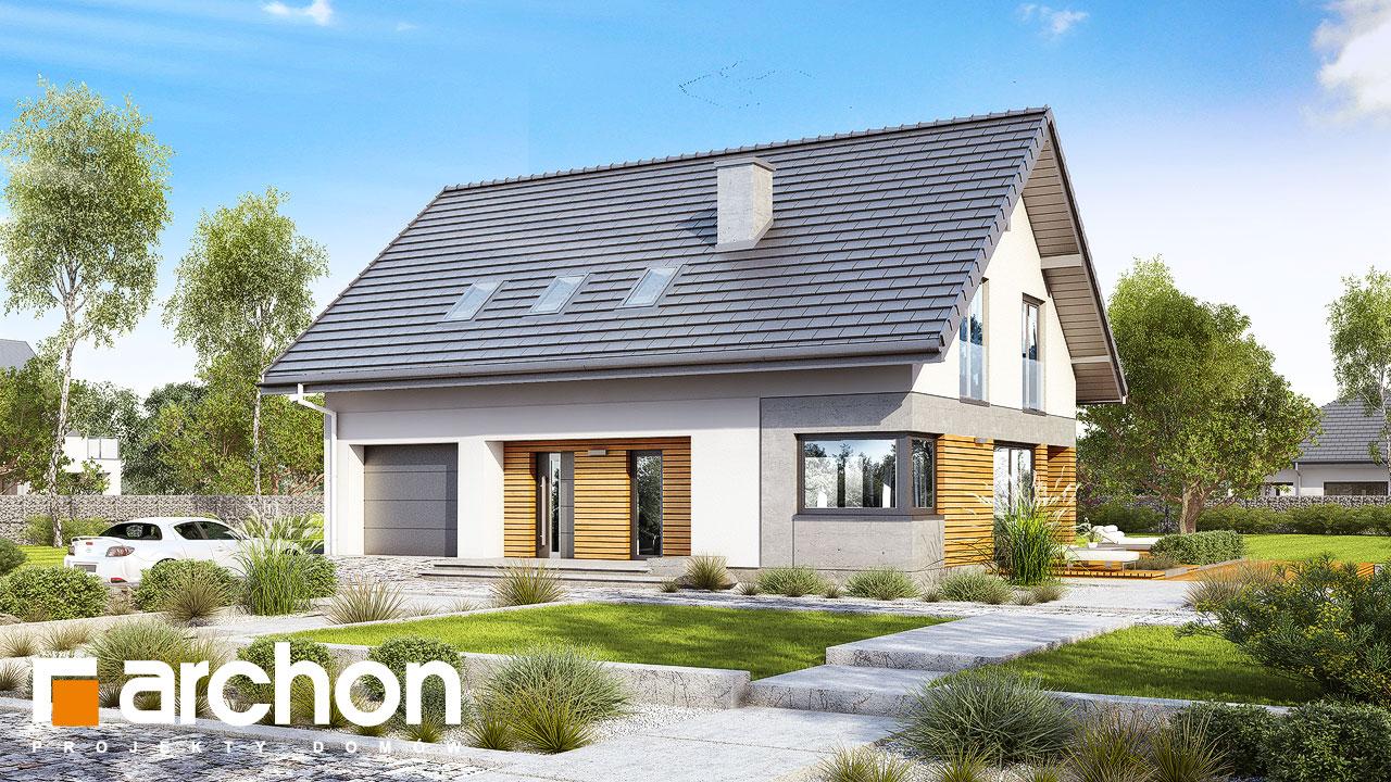Проект будинку ARCHON+ Будинок в аурорах 6 додаткова візуалізація
