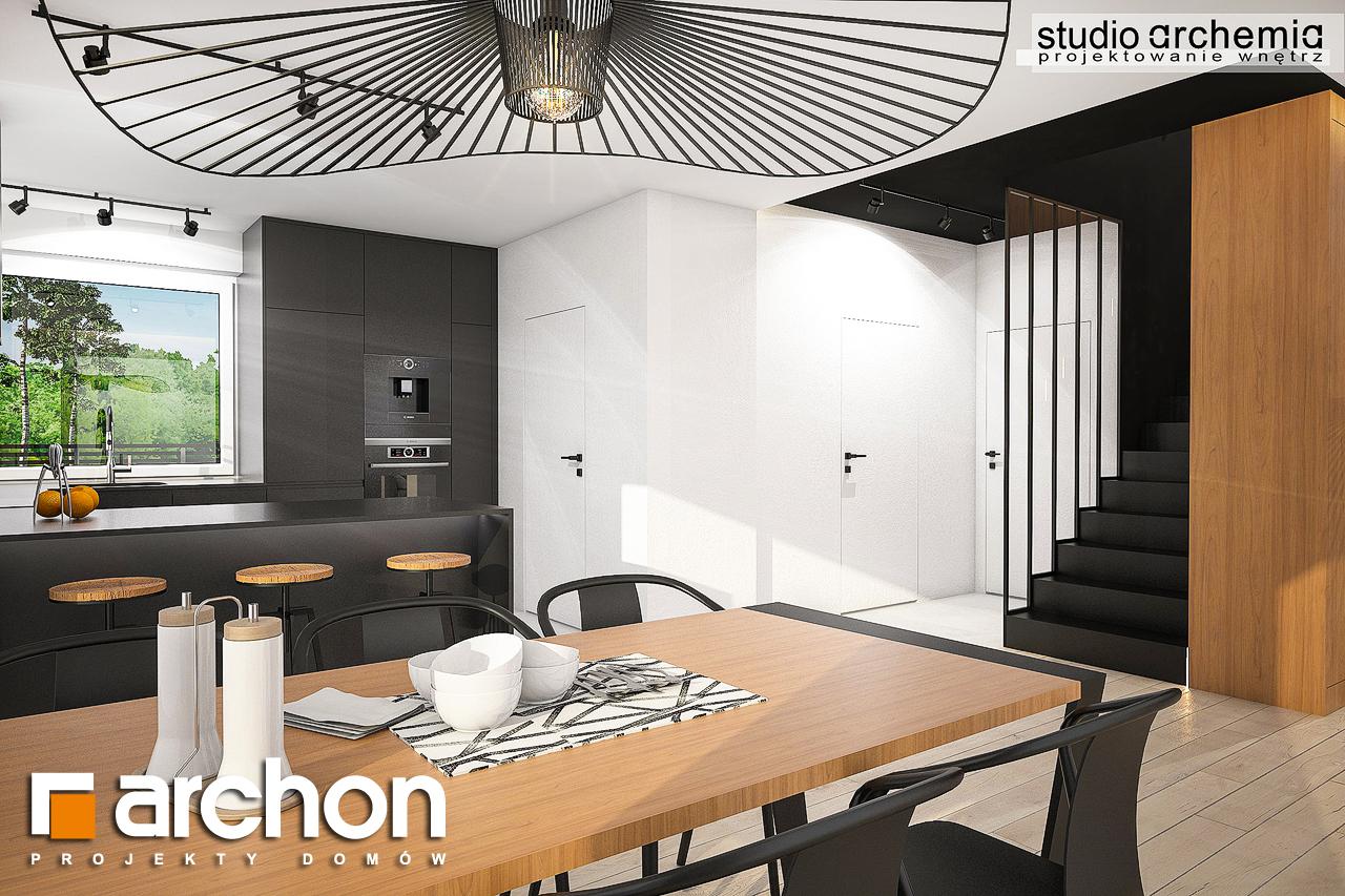 Проект будинку ARCHON+ Будинок в аурорах 6 візуалізація кухні 1 від 2