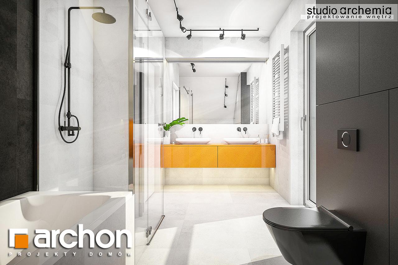 Проект будинку ARCHON+ Будинок в аурорах 6 візуалізація ванни (візуалізація 3 від 2)