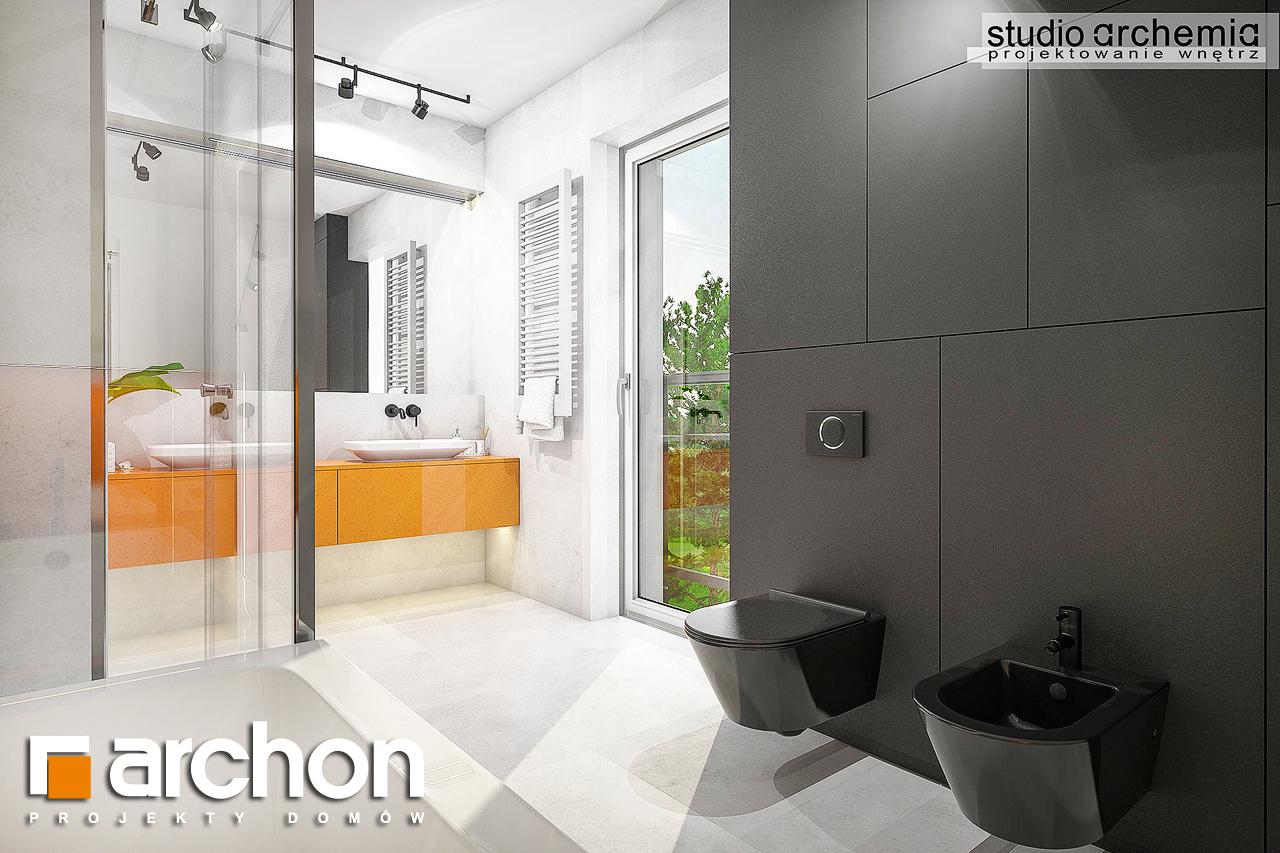 Проект будинку ARCHON+ Будинок в аурорах 6 візуалізація ванни (візуалізація 3 від 3)