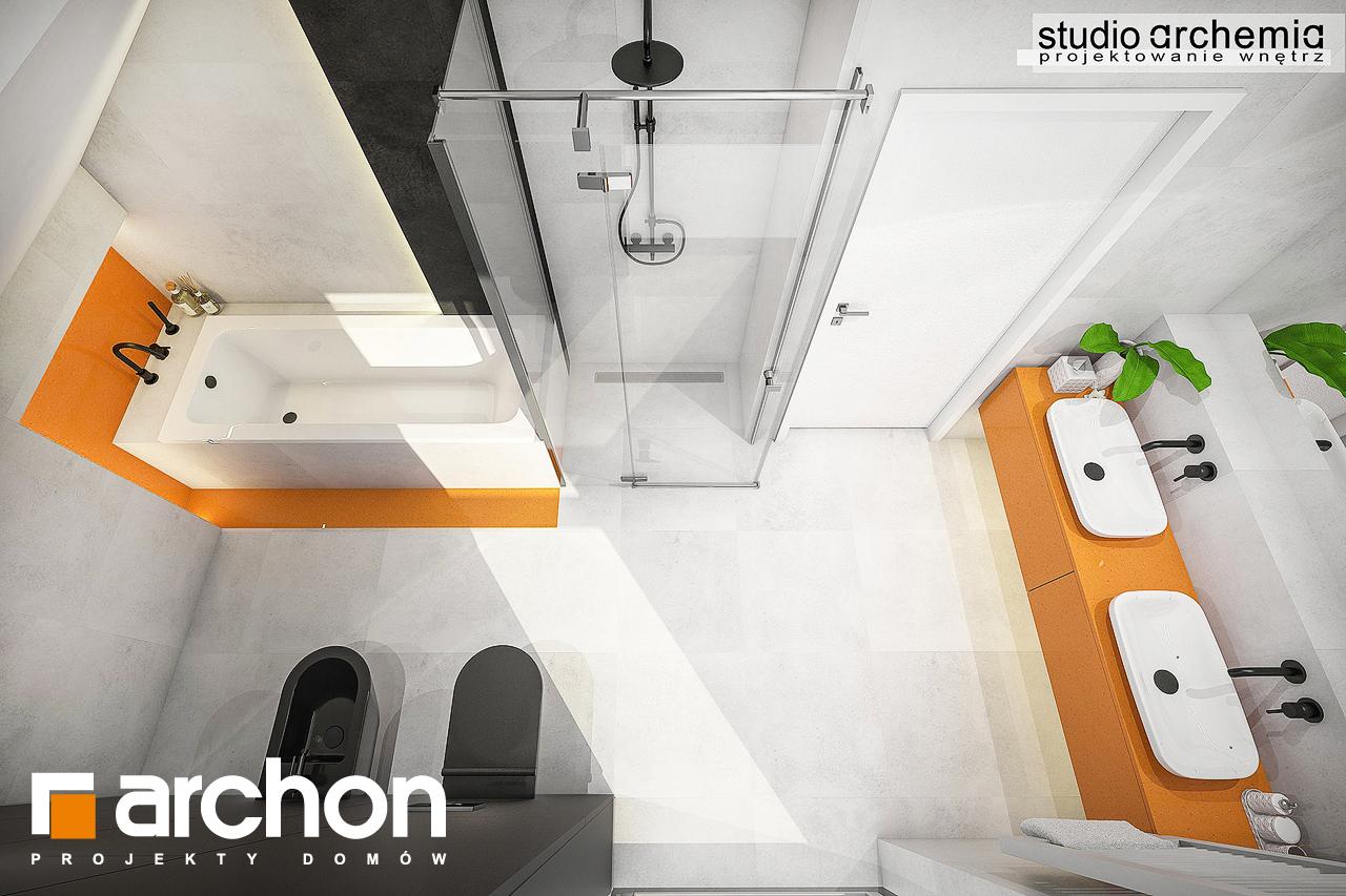 Проект будинку ARCHON+ Будинок в аурорах 6 візуалізація ванни (візуалізація 3 від 4)