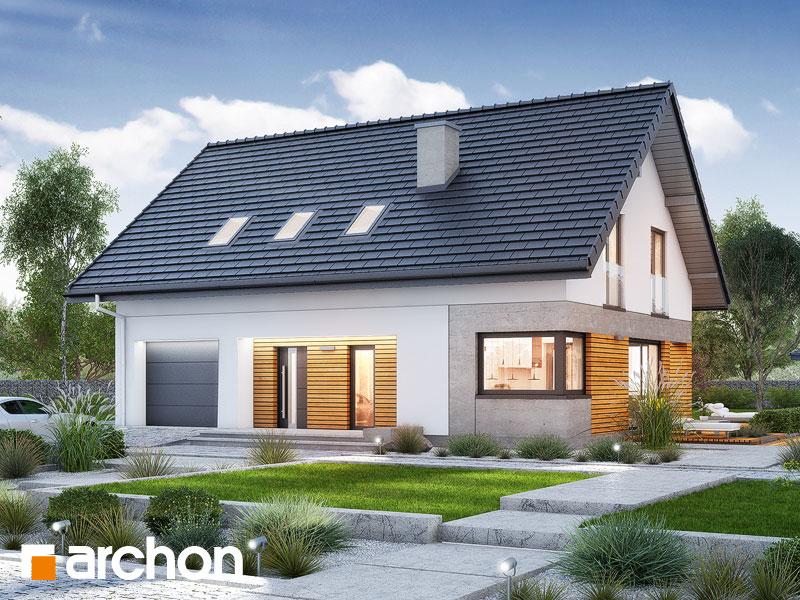 Проект дома ARCHON+ Дом в аурорах 6 Вид 1