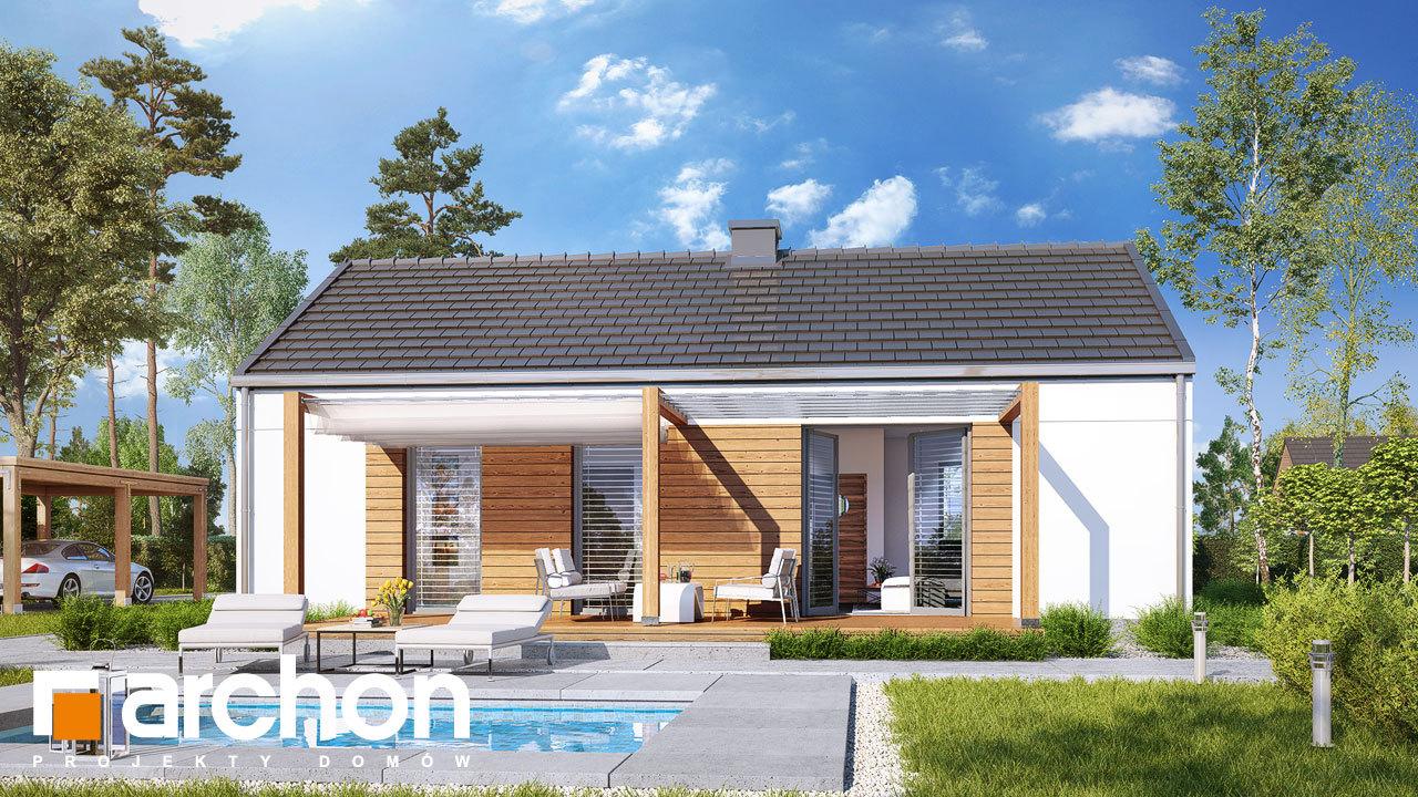 Проект будинку ARCHON+ Будинок в коручках 3