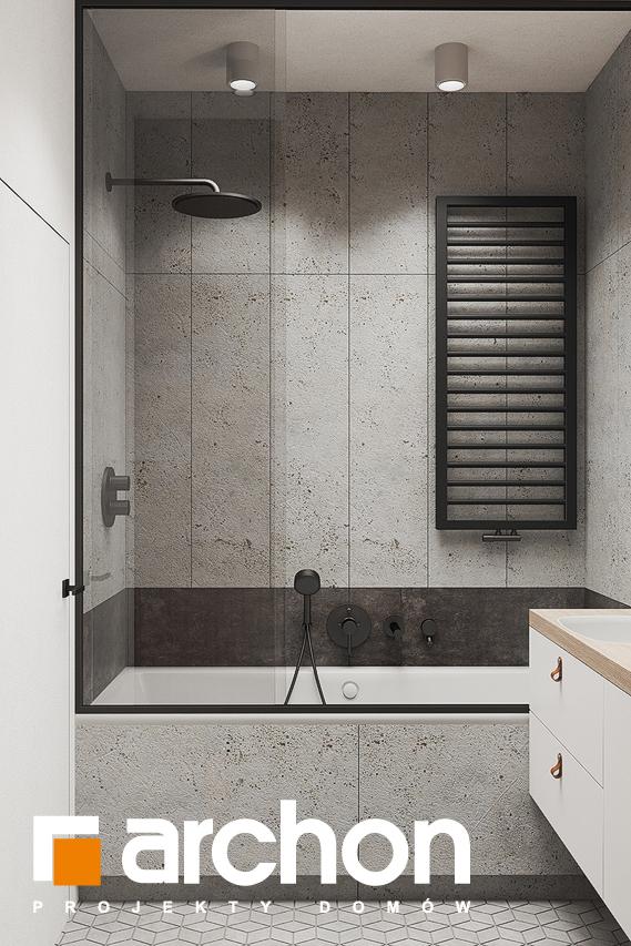 Проект будинку ARCHON+ Будинок в коручках 3 візуалізація ванни (візуалізація 3 від 2)