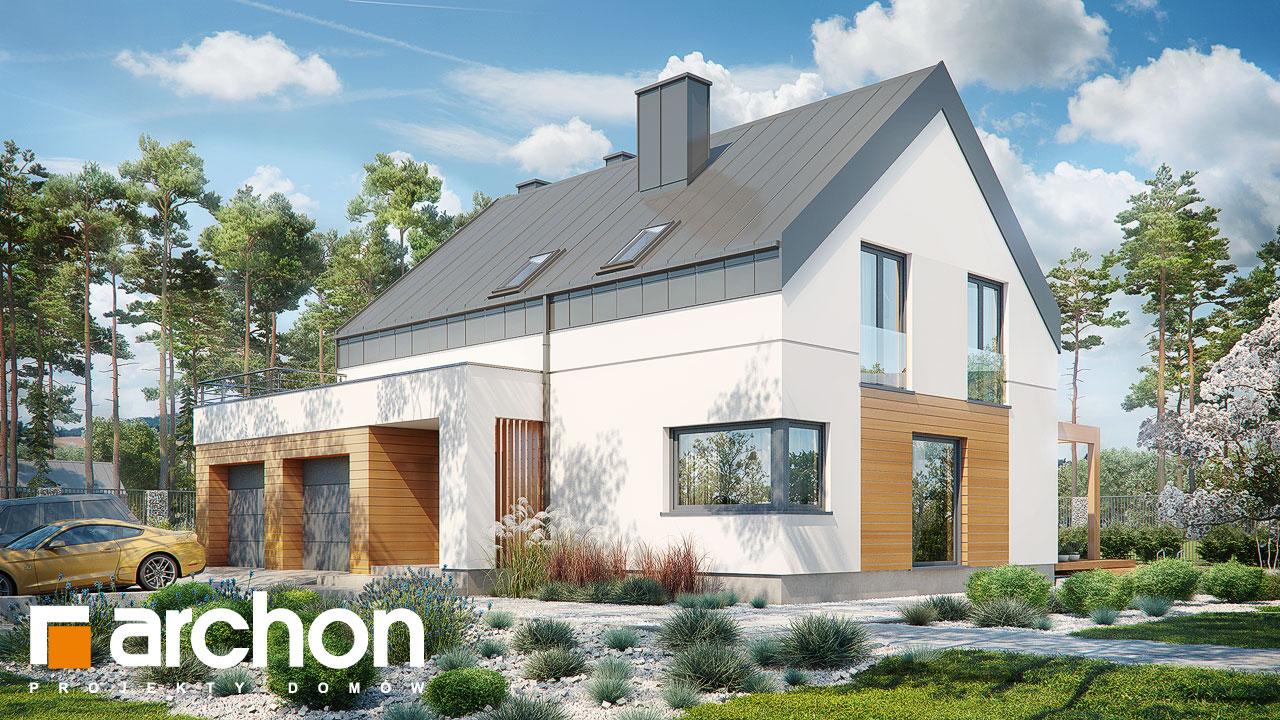 Проект будинку ARCHON+ Будинок в яблонках 8 (Г2Н) додаткова візуалізація