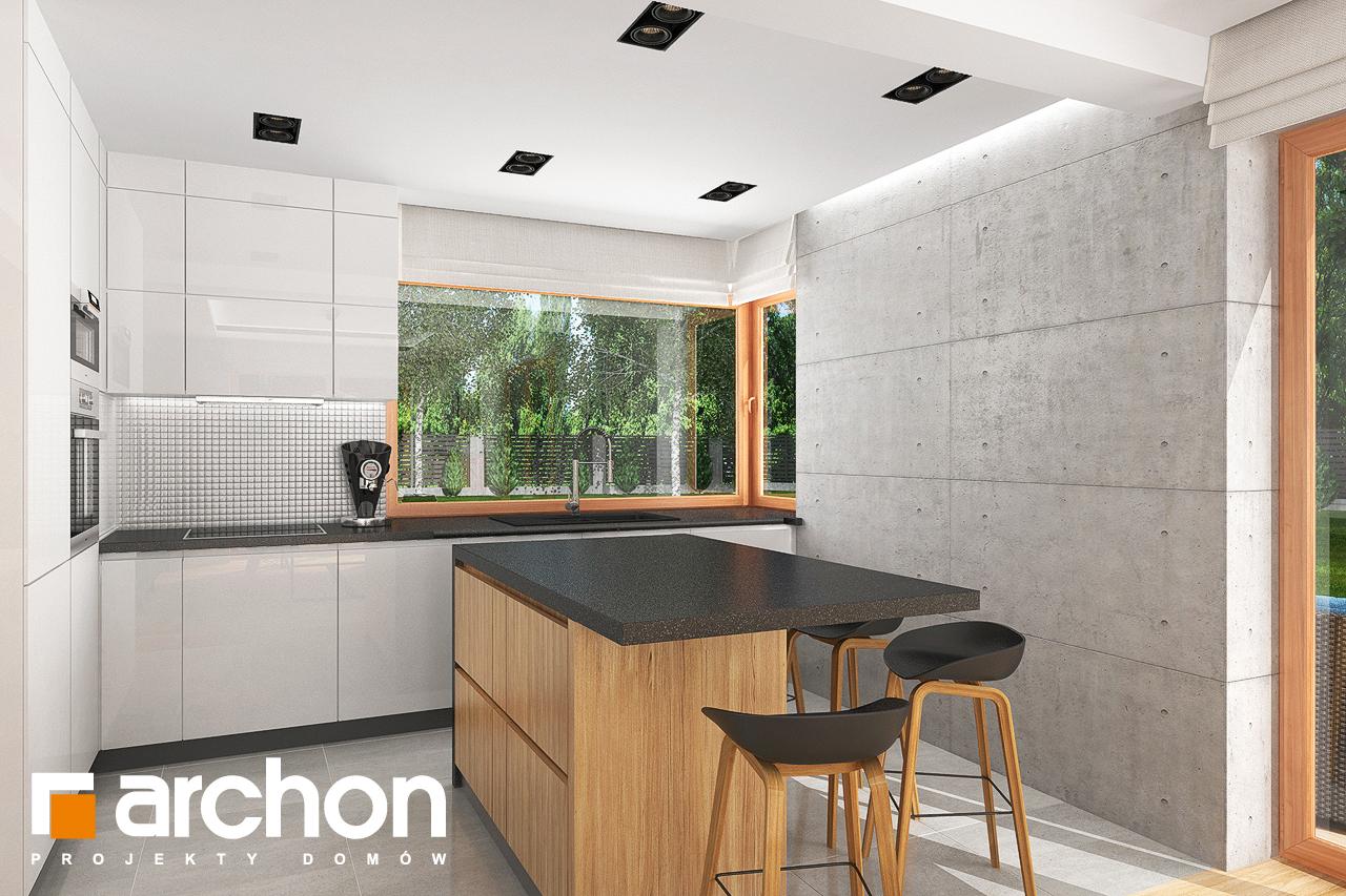 Проект будинку ARCHON+ Будинок в гранаділах візуалізація кухні 1 від 1