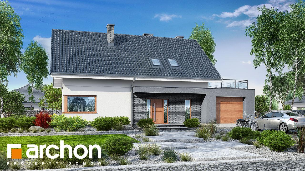Проект будинку ARCHON+ Будинок в гранаділах Вид 2