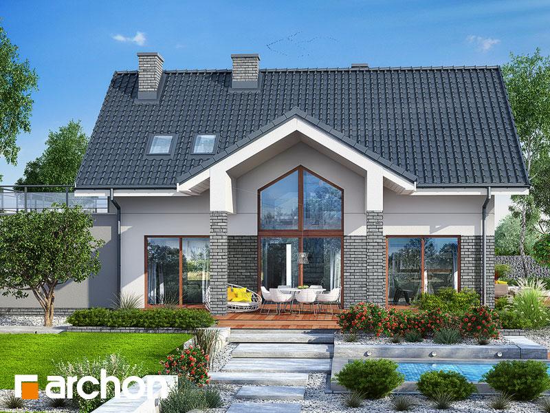 Проект будинку ARCHON+ Будинок в гранаділах Вид 1