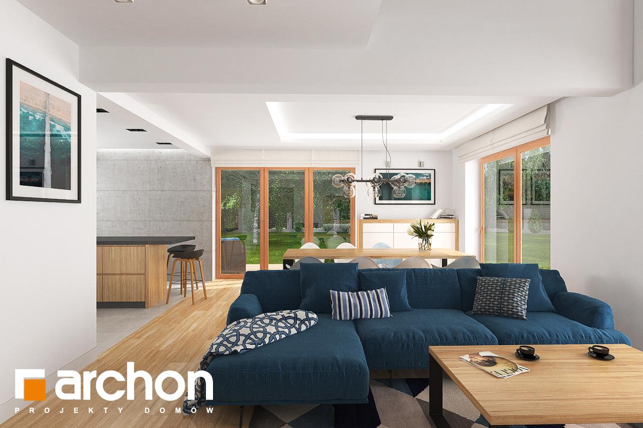 Проект будинку ARCHON+ Будинок в гранаділах денна зона (візуалізація 1 від 1)