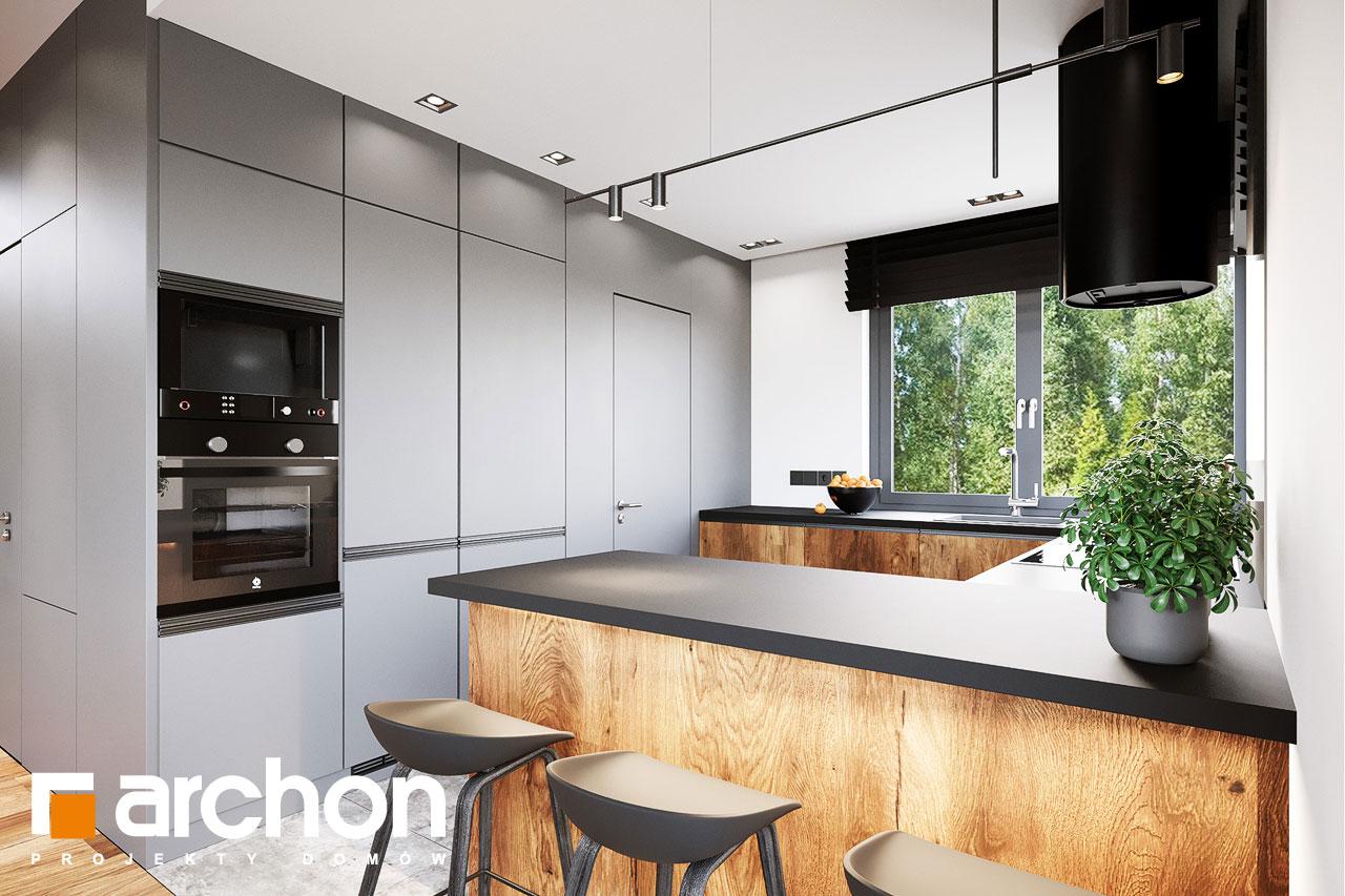 Проект будинку ARCHON+ Вілла Аделайда (Г2) візуалізація кухні 1 від 1