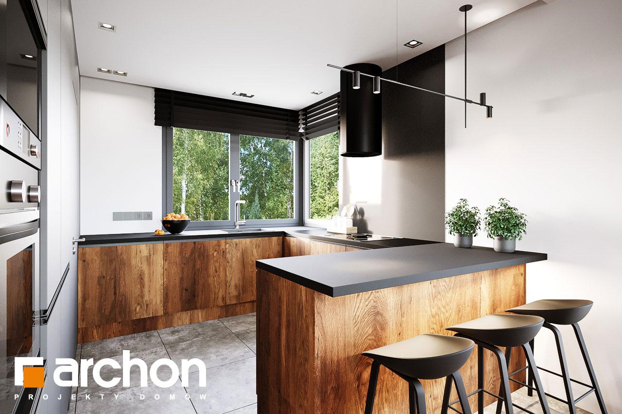 Проект будинку ARCHON+ Вілла Аделайда (Г2) візуалізація кухні 1 від 2