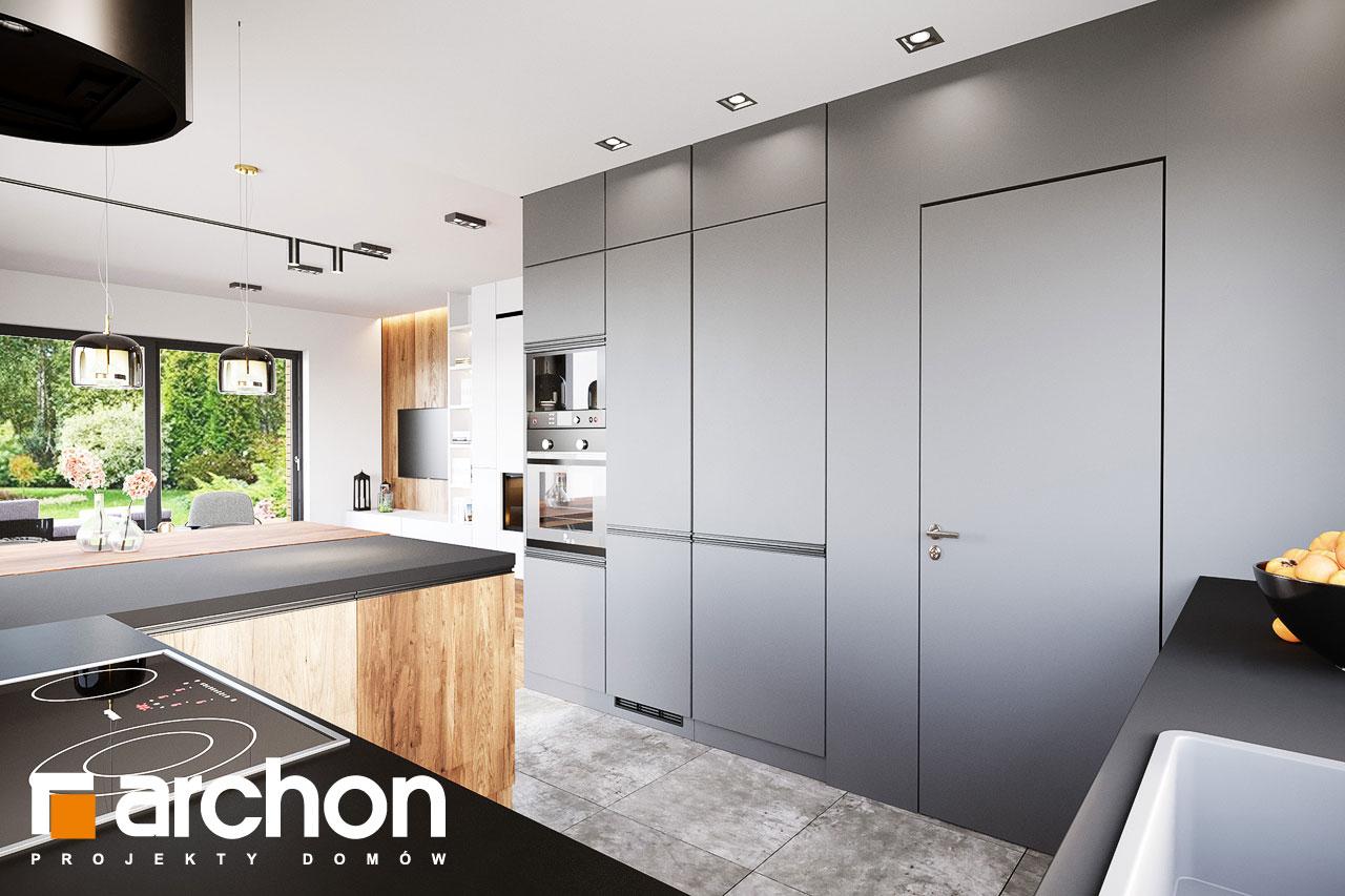 Проект будинку ARCHON+ Вілла Аделайда (Г2) візуалізація кухні 1 від 3