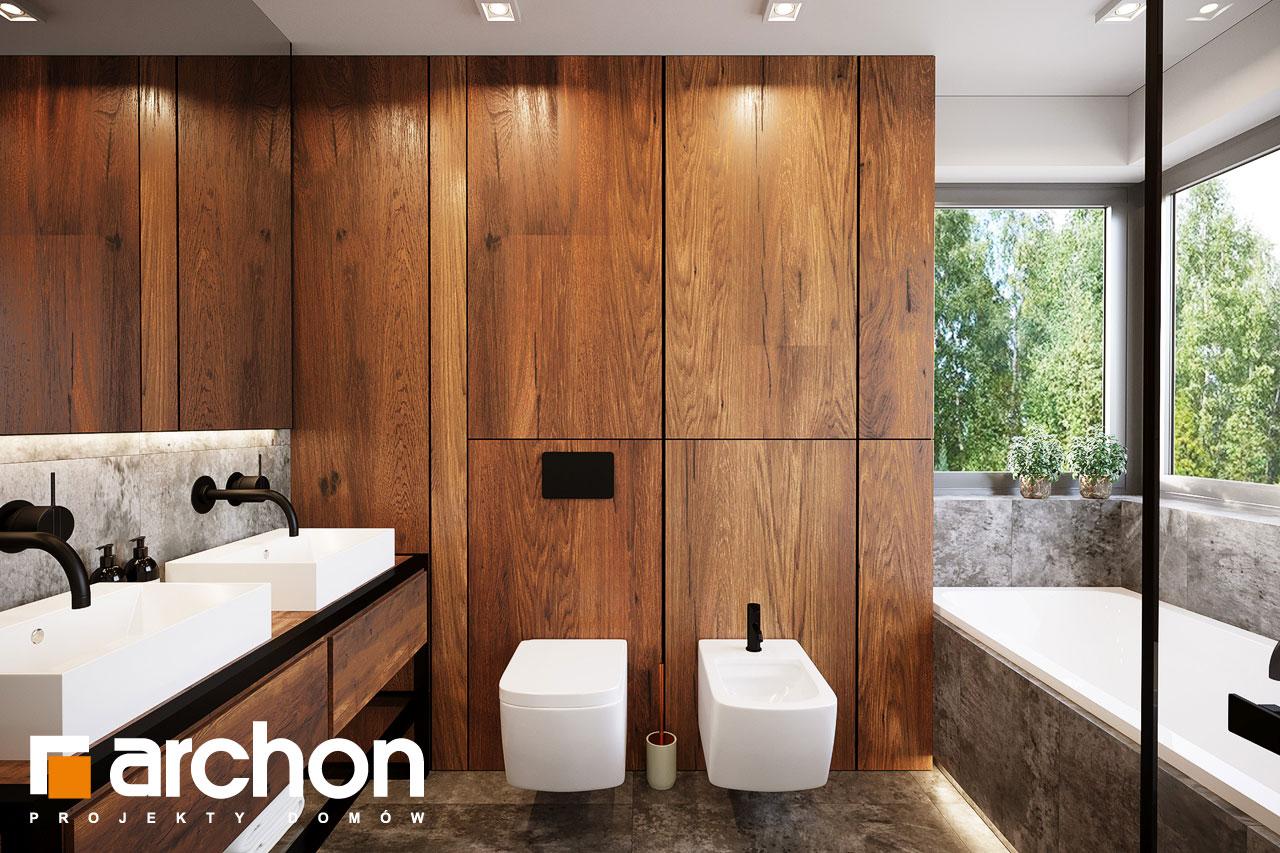 Проект будинку ARCHON+ Вілла Аделайда (Г2) візуалізація ванни (візуалізація 3 від 1)