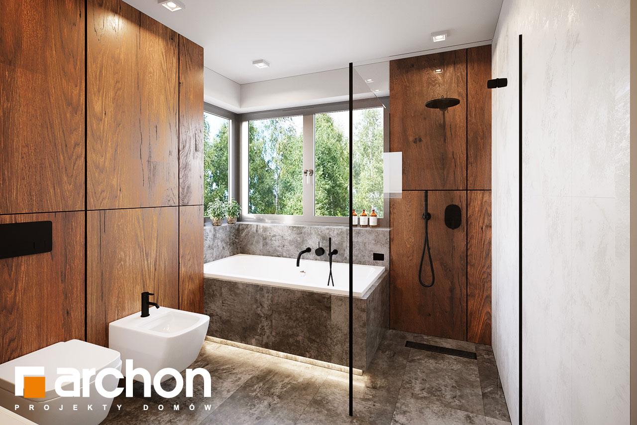 Проект будинку ARCHON+ Вілла Аделайда (Г2) візуалізація ванни (візуалізація 3 від 2)