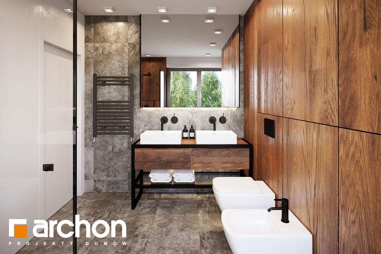 Проект будинку ARCHON+ Вілла Аделайда (Г2) візуалізація ванни (візуалізація 3 від 3)
