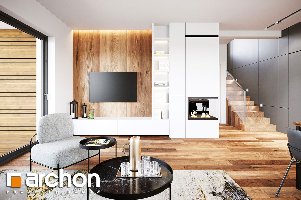 Проект будинку ARCHON+ Вілла Аделайда (Г2) денна зона (візуалізація 1 від 1)