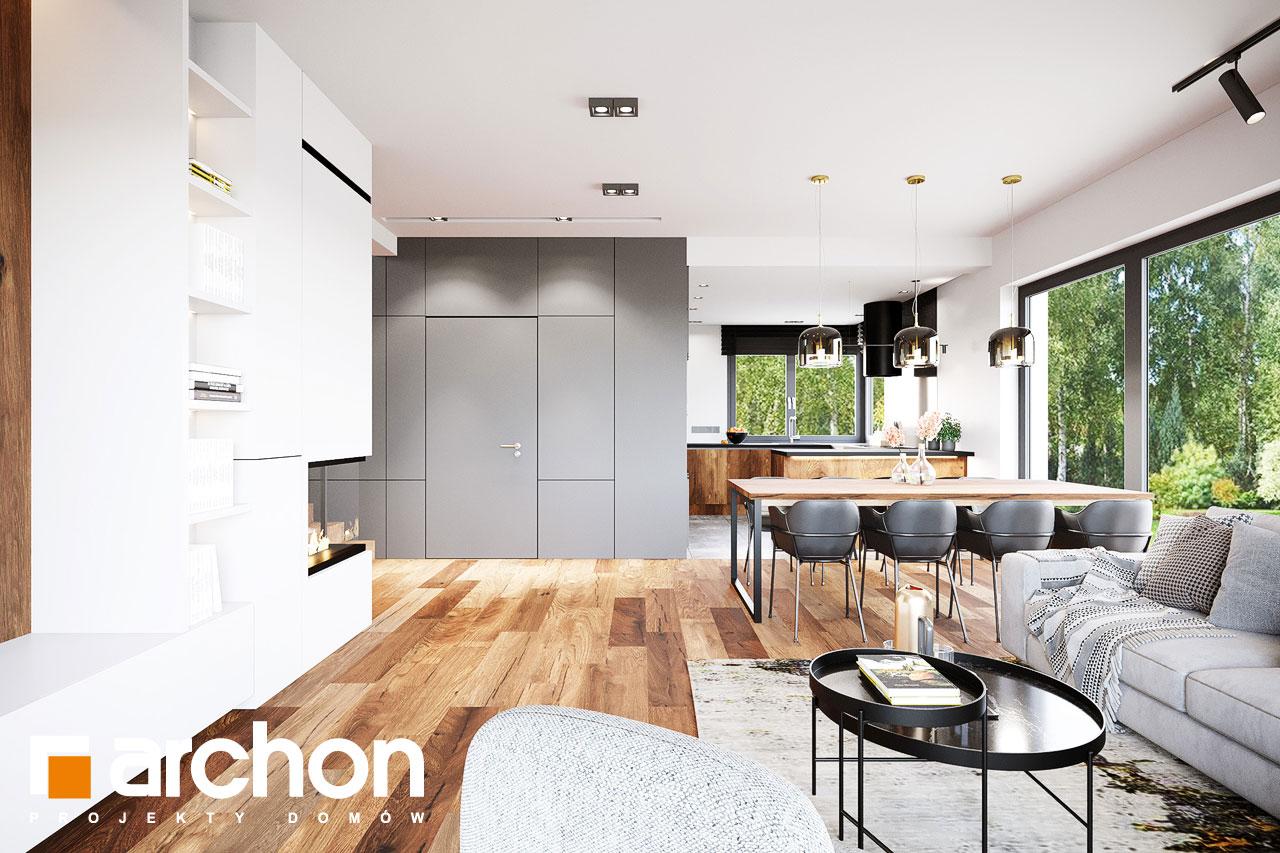 Проект будинку ARCHON+ Вілла Аделайда (Г2) денна зона (візуалізація 1 від 3)