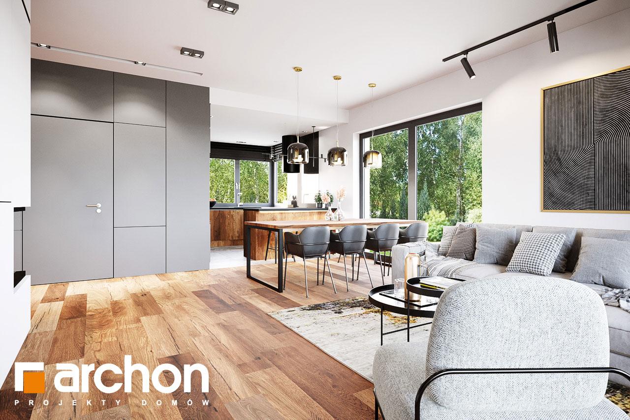 Проект будинку ARCHON+ Вілла Аделайда (Г2) денна зона (візуалізація 1 від 4)