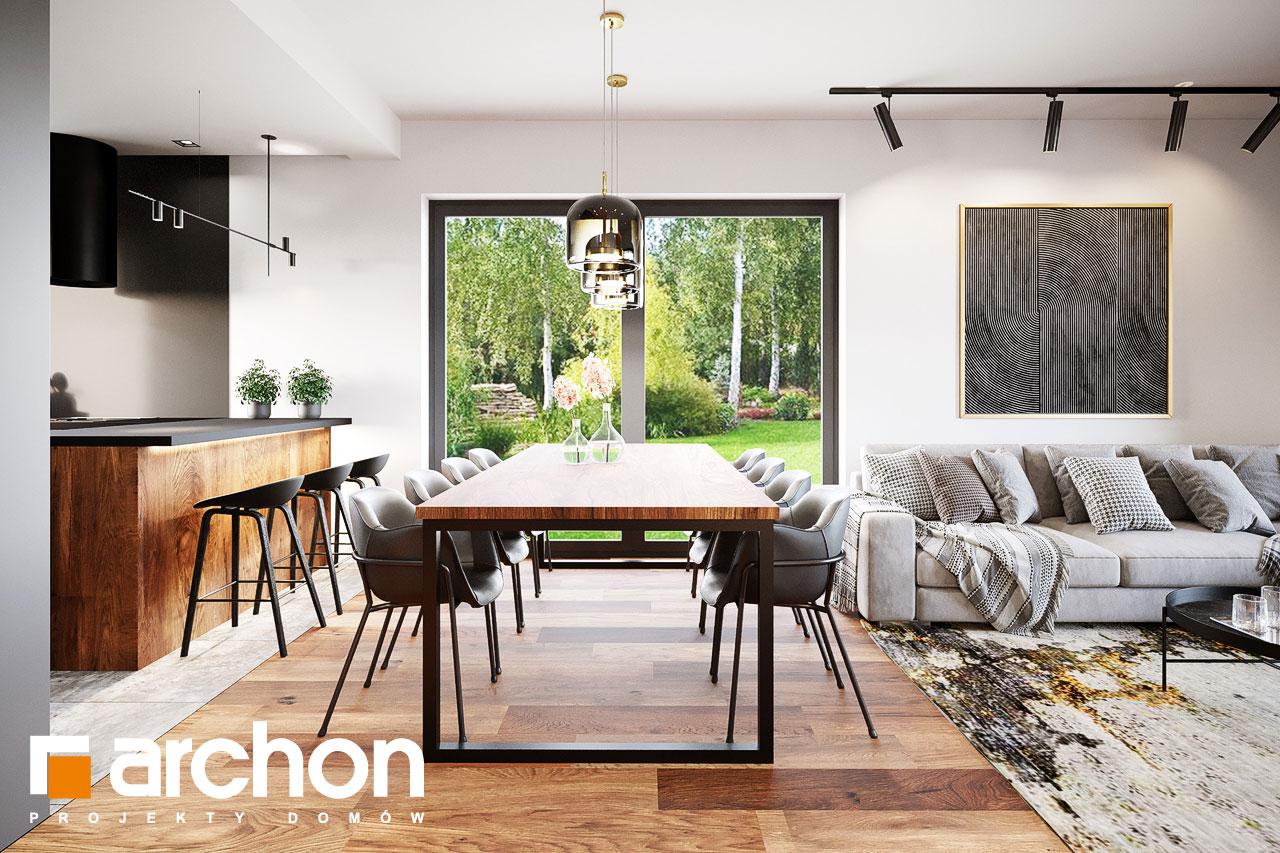 Проект будинку ARCHON+ Вілла Аделайда (Г2) денна зона (візуалізація 1 від 5)