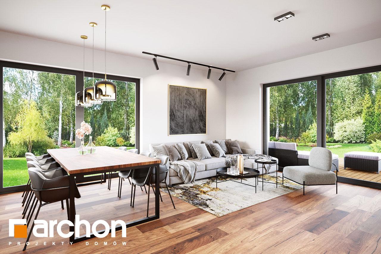 Проект будинку ARCHON+ Вілла Аделайда (Г2) денна зона (візуалізація 1 від 6)