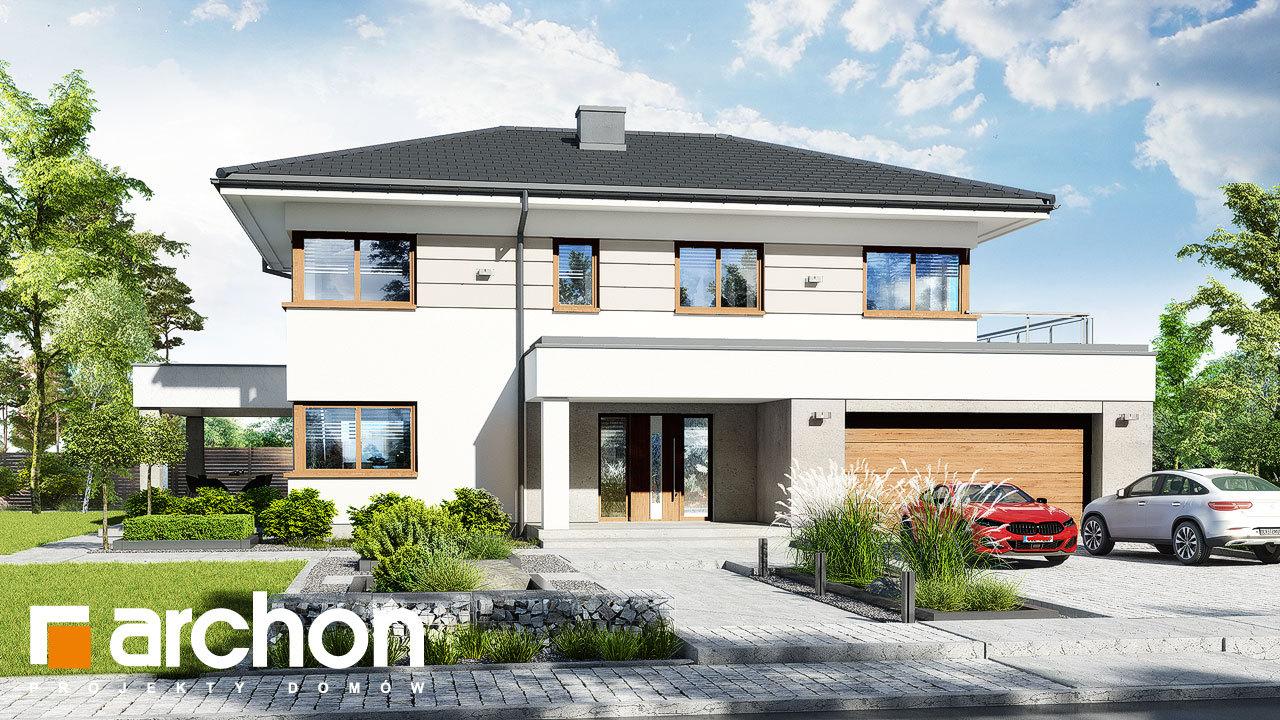 Проект будинку ARCHON+ Вілла Міранда 12 (Г2)