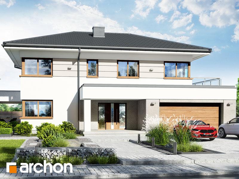 Проект будинку ARCHON+ Вілла Міранда 12 (Г2) Вид 1