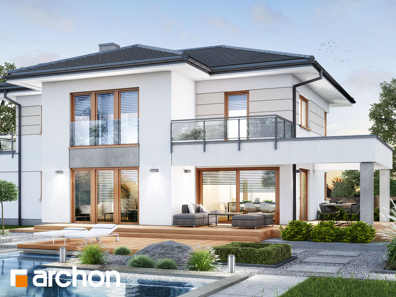 Проект будинку ARCHON+ Вілла Міранда 12 (Г2) Вид 2