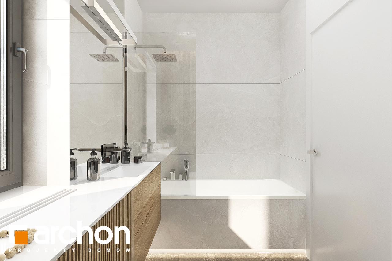 Проект будинку ARCHON+ Будинок в коручках візуалізація ванни (візуалізація 3 від 3)