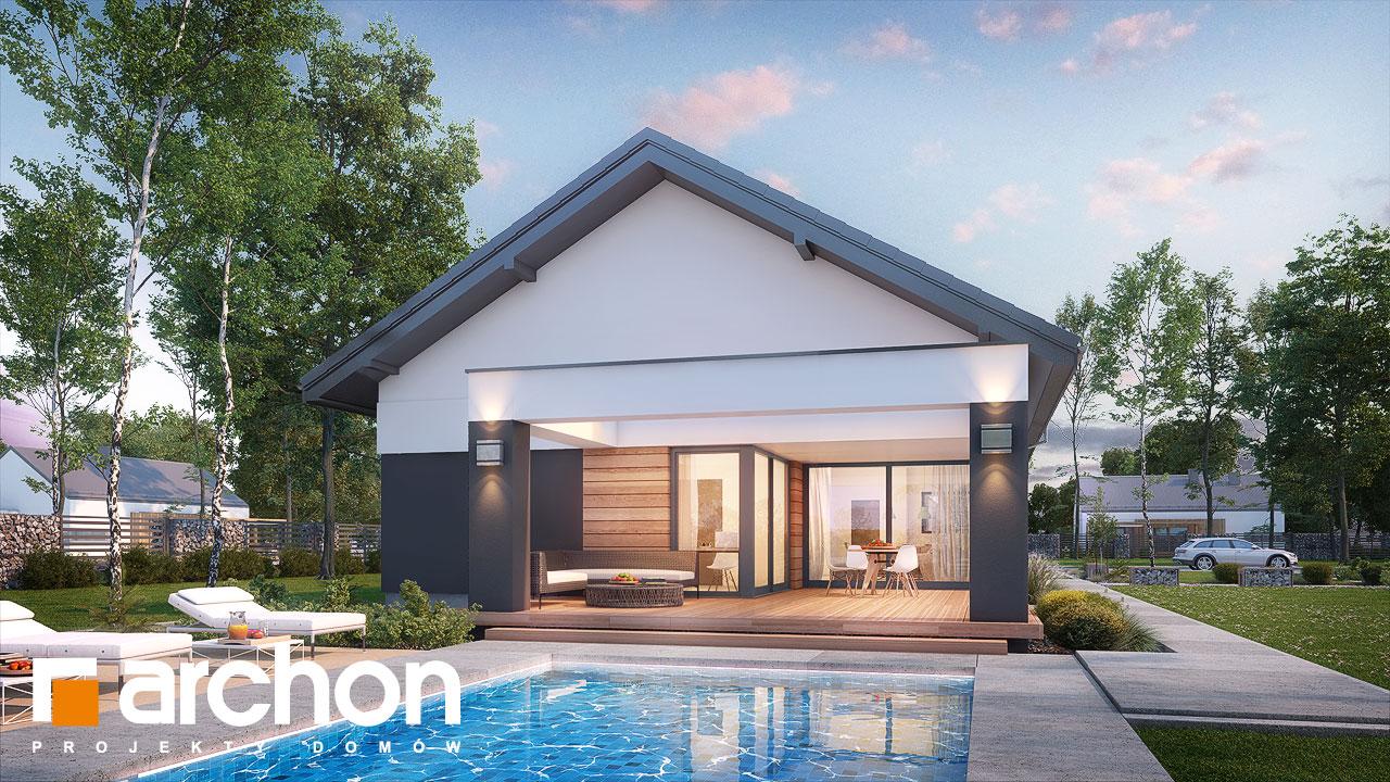 Проект будинку ARCHON+ Будинок в андромедах 6 (Г2) додаткова візуалізація
