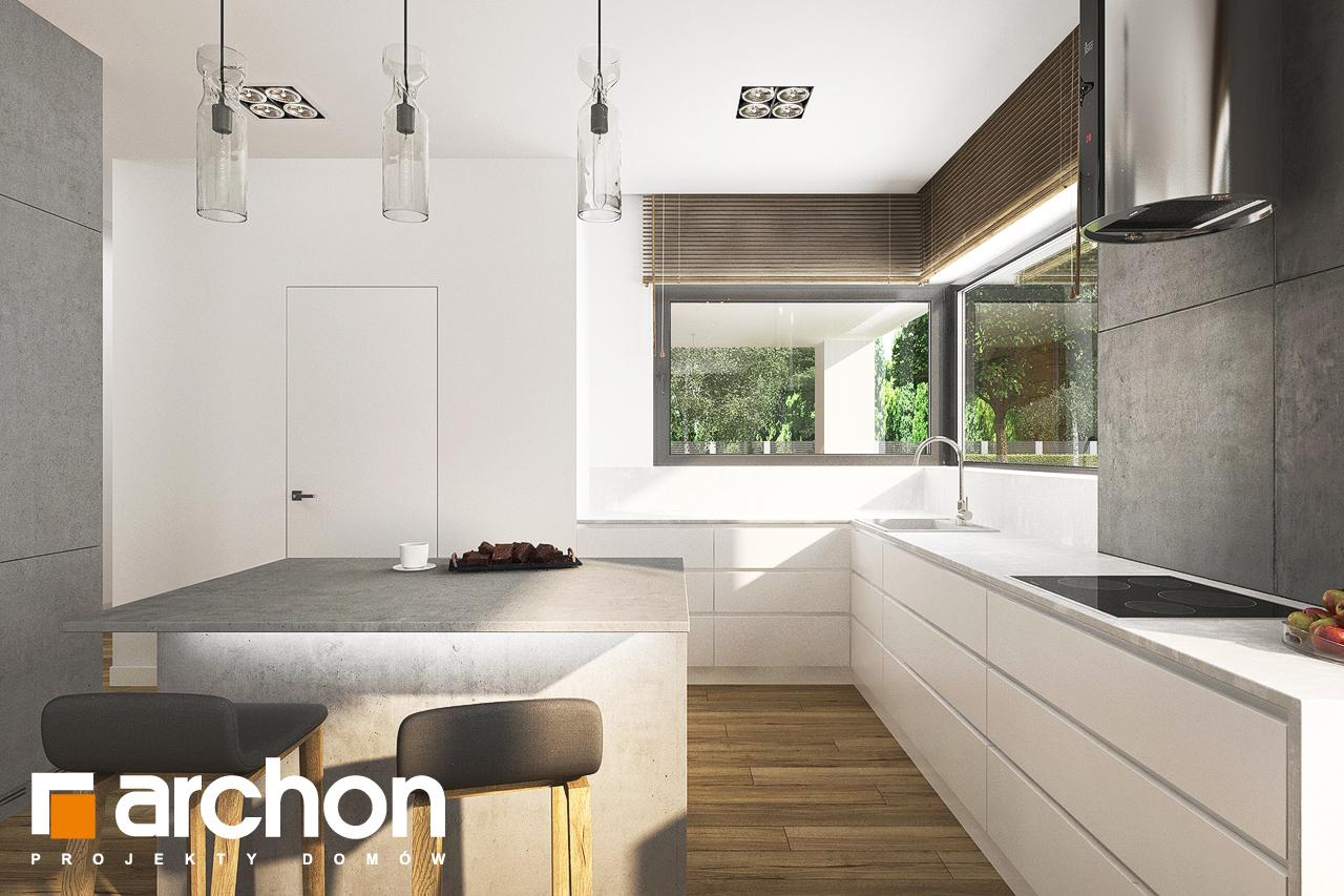 Проект будинку ARCHON+ Будинок в андромедах 6 (Г2) візуалізація кухні 1 від 1
