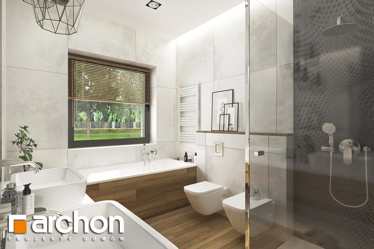 Проект будинку ARCHON+ Будинок в андромедах 6 (Г2) візуалізація ванни (візуалізація 3 від 1)