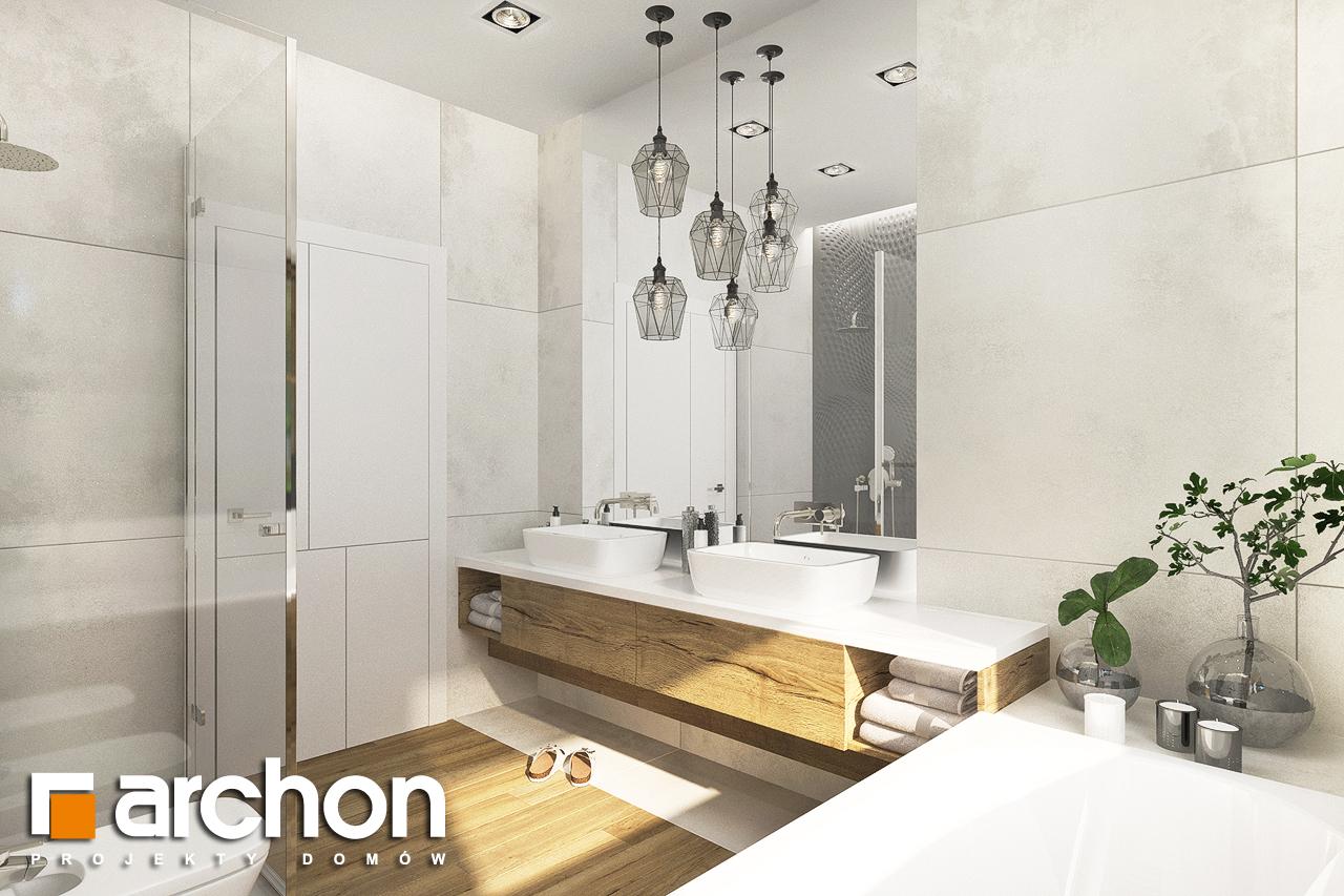 Проект будинку ARCHON+ Будинок в андромедах 6 (Г2) візуалізація ванни (візуалізація 3 від 3)