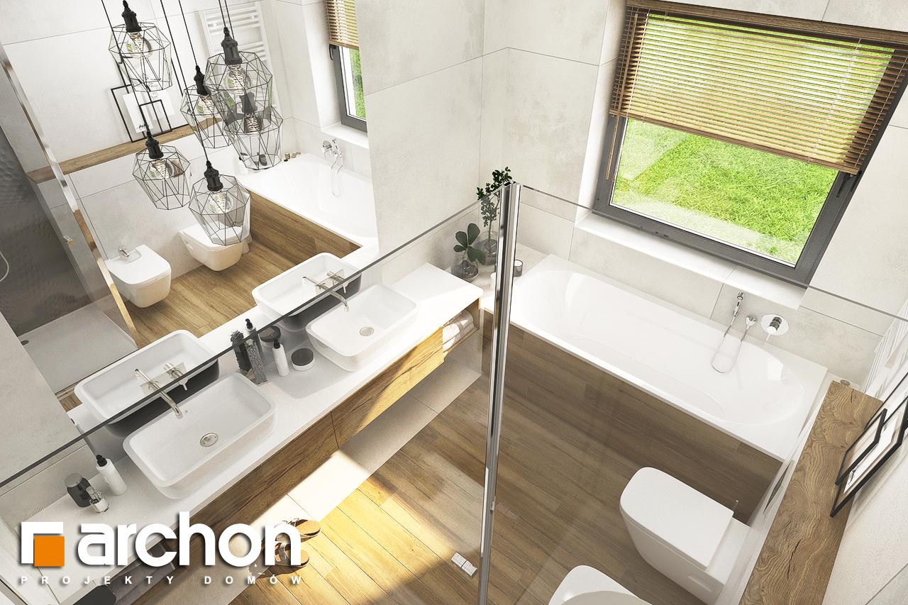 Проект будинку ARCHON+ Будинок в андромедах 6 (Г2) візуалізація ванни (візуалізація 3 від 4)