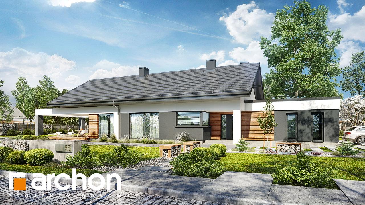 Проект будинку ARCHON+ Будинок в андромедах 6 (Г2) Вид 2
