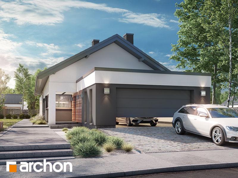Проект будинку ARCHON+ Будинок в андромедах 6 (Г2) Вид 1
