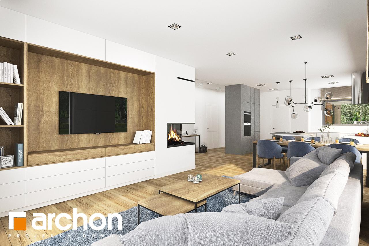 Проект будинку ARCHON+ Будинок в андромедах 6 (Г2) денна зона (візуалізація 1 від 1)