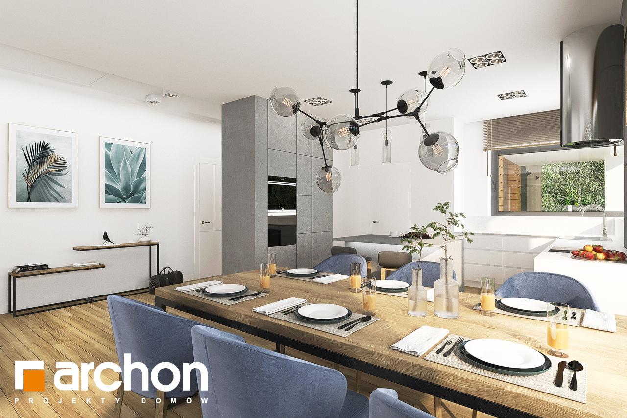 Проект будинку ARCHON+ Будинок в андромедах 6 (Г2) денна зона (візуалізація 1 від 2)