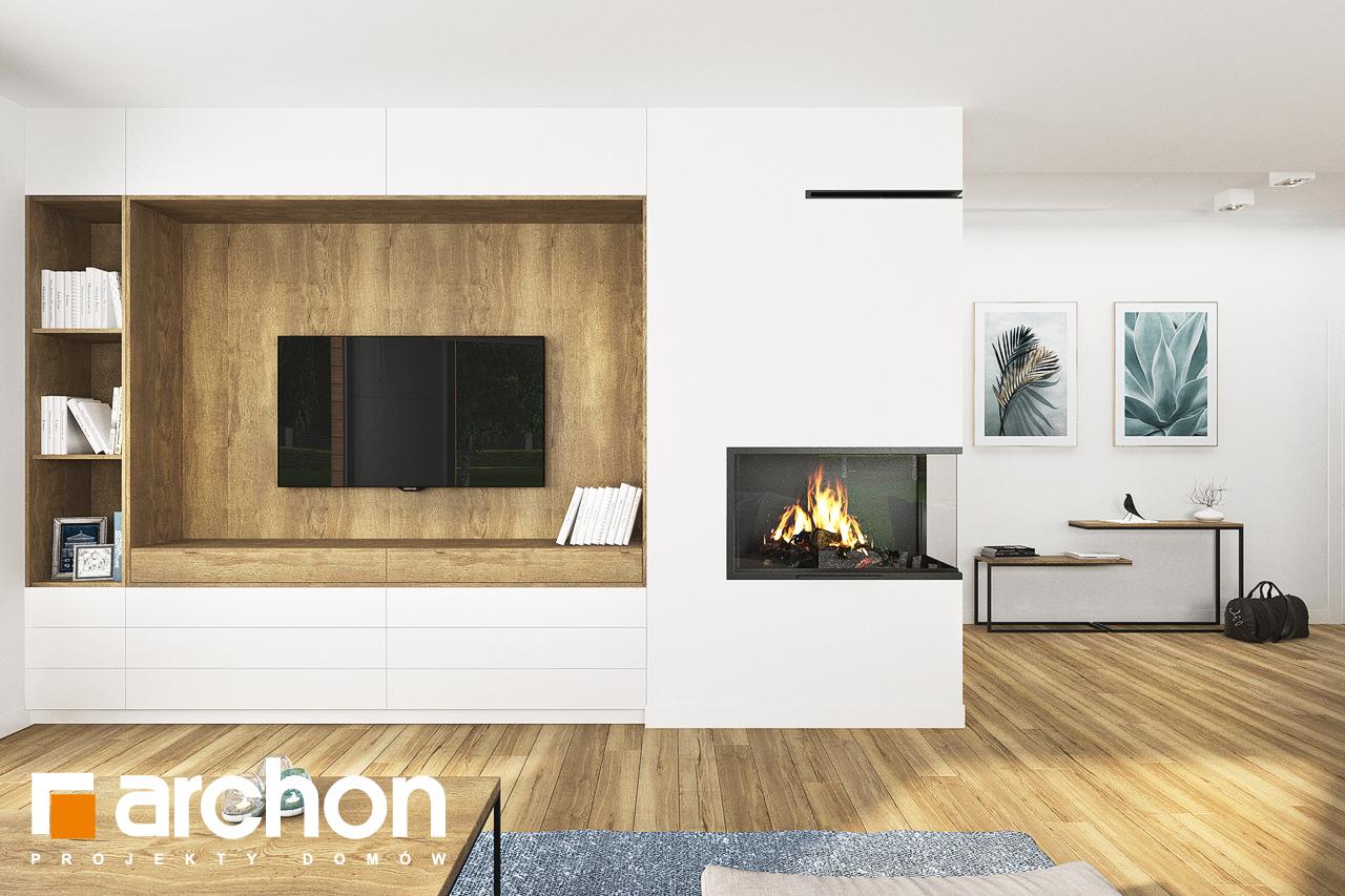 Проект будинку ARCHON+ Будинок в андромедах 6 (Г2) денна зона (візуалізація 1 від 3)