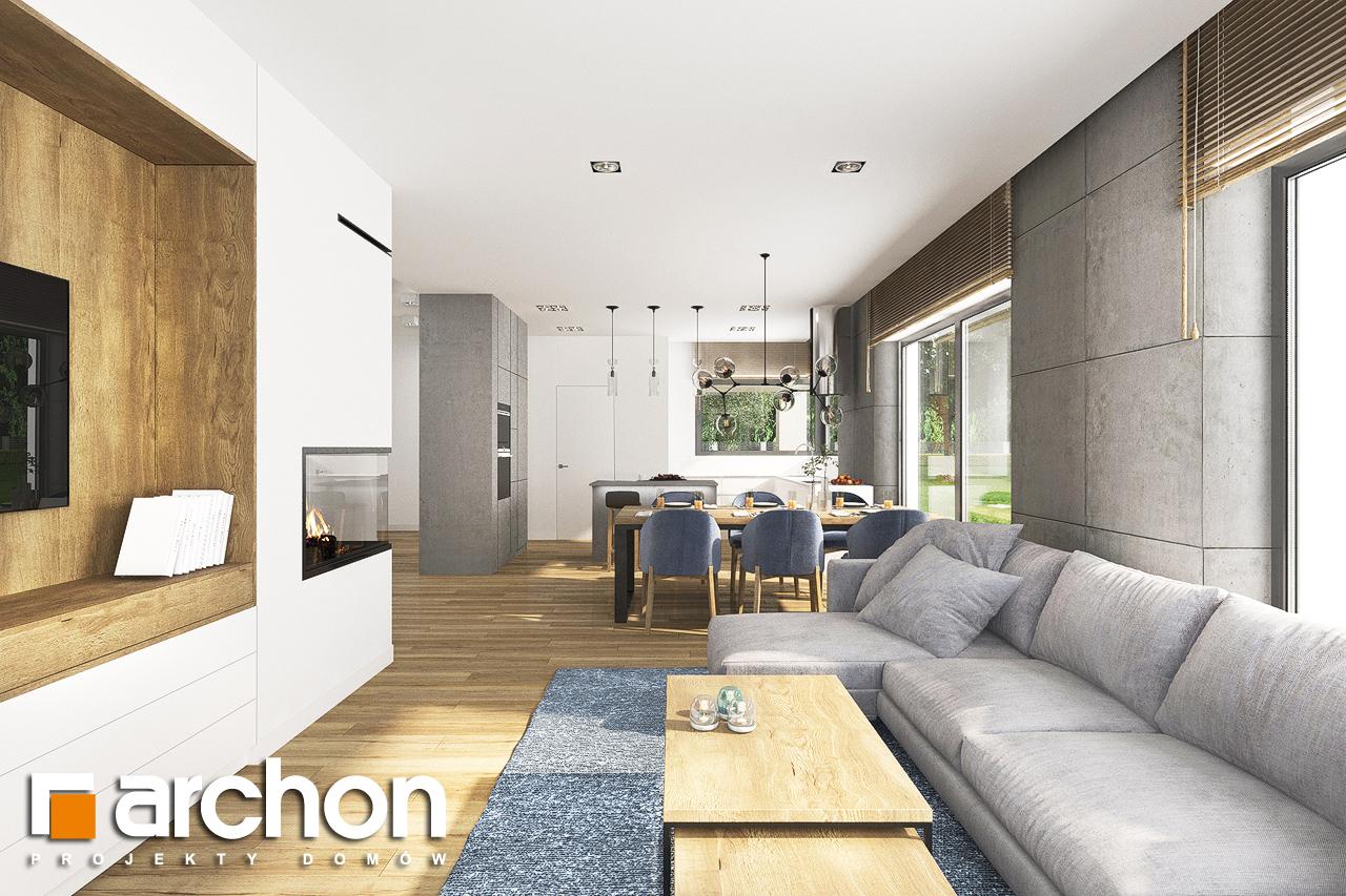 Проект будинку ARCHON+ Будинок в андромедах 6 (Г2) денна зона (візуалізація 1 від 6)