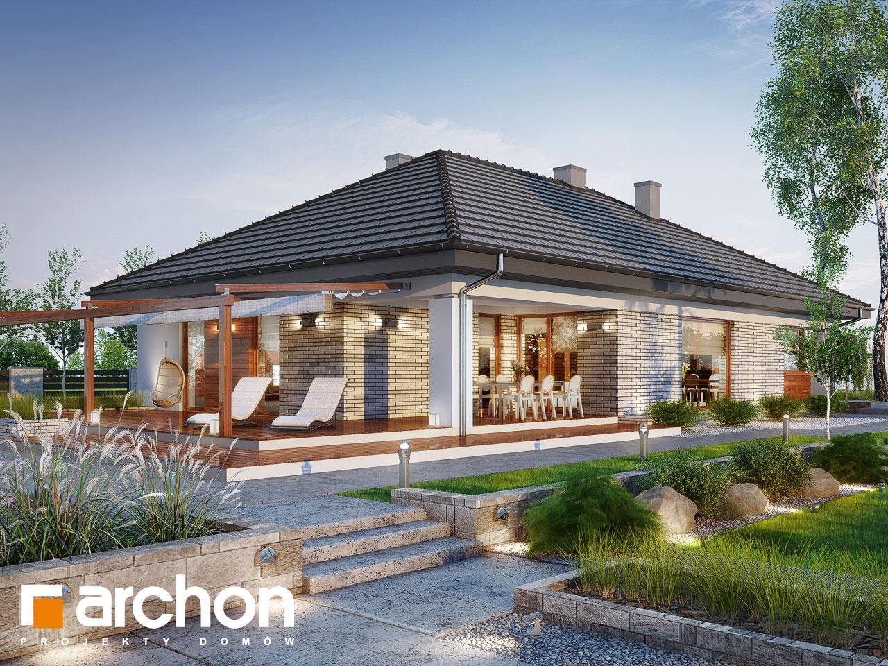 Проект дома ARCHON+ Дом в андромедах 2 (Г2) Вид 2