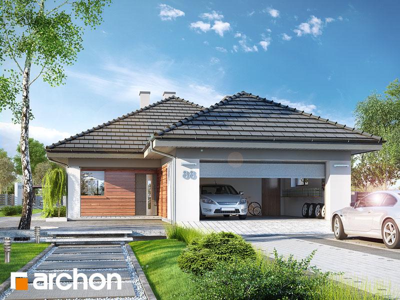 Проект дома ARCHON+ Дом в андромедах 2 (Г2) Вид 1